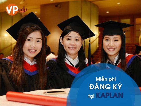Miễn phí ghi danh tại Học viện Kaplan Singapore đầu năm 2019