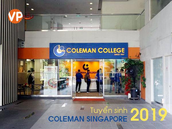 Thông tin du học tại trường Cao đẳng Coleman Singapore 2019