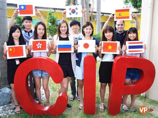 Trường anh ngữ CIP là lựa chọn hàng đầu của nhiều học viên các quốc gia của Châu Á
