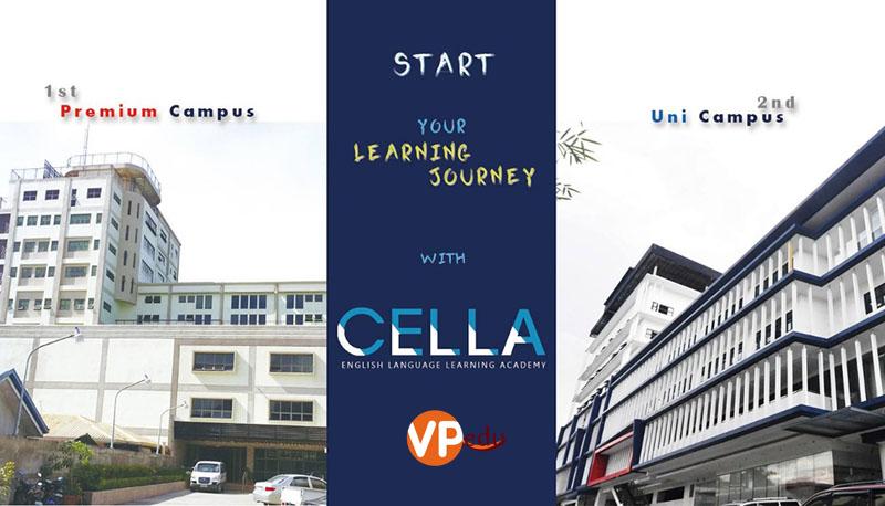 Trường anh ngữ Cella với cơ sở vật chất hiện đại bậc nhất tại Philippines