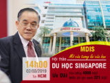 Hội thảo du học Singapore - Học viện MDIS Mở cửa tương lai bạn