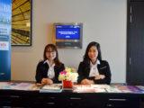 Đội ngủ tư vấn viên Việt Phương sẳn sàng hỗ trợ phụ huynh học sinh tham dự hội thảo