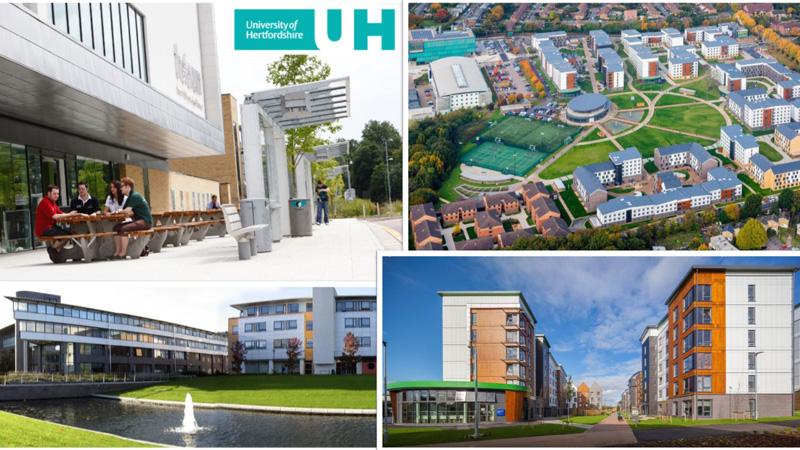 University of Hertfordshire là một trong những trường đại học hàng đầu của Anh Quốc