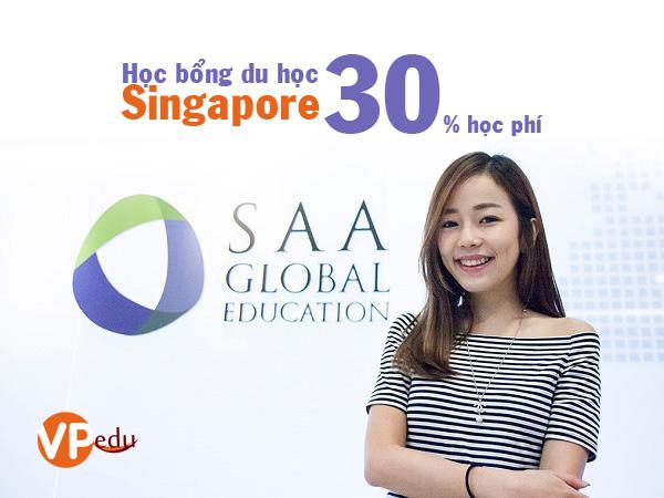 Học bổng du học Singapore 30% học phí tại Học viện kế toán SAA
