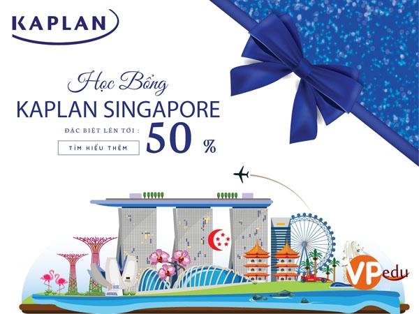 Nhận học bổng 50% học phí tại Học viện Kaplan Singapore 2019