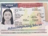 Chúc Mừng Bạn Phan Bình Nhưt Đậu Visa Du Học Mỹ