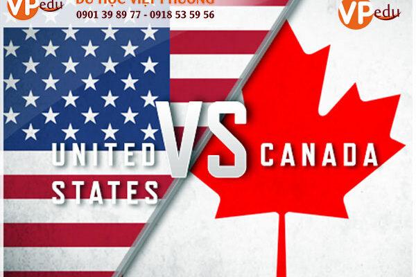 Nên đi du học Mỹ hay Canada?