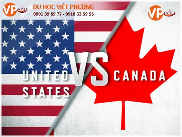 Nên đi du học Mỹ hay Canada