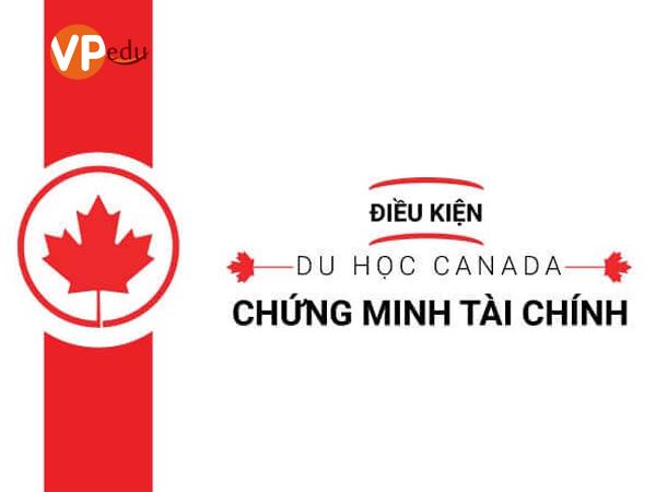 Du học Canada theo hình thức chứng minh tài chính