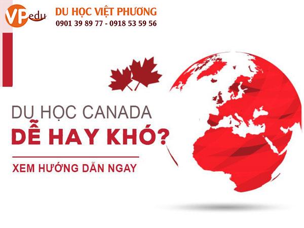 Du học Canada có khó không, bạn cần chuẩn bị gì?