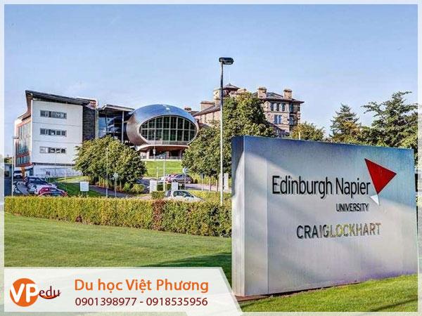 Trường Đại học Edinburgh Napier là một trong những trường đại học kỹ thuật hàng đầu của Anh