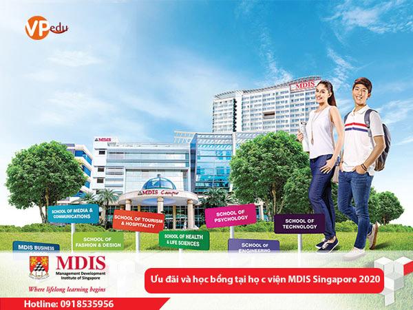 Chương trình ưu đãi học phí và học bổng tại học viện MDIS