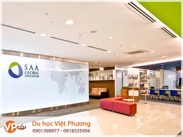 Học bổng du học Singapore 2020 tại học viện SAA Global Education