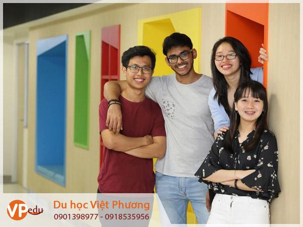 Du học Malaysia được học tập trong môi trường quốc tế