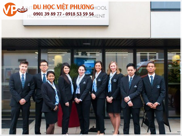 Môi trường học tập thu hút đông đảo sinh viên quốc tế