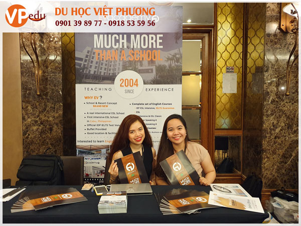 VPEdu liên tục tổ chức hội thảo, triển lãm du học