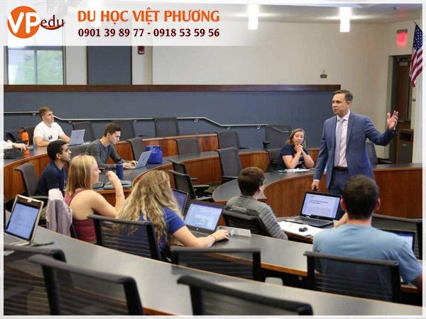 Lớp học MBA tại trường University of Florida