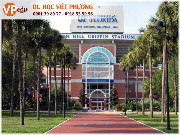 Trường University of Florida, Mỹ