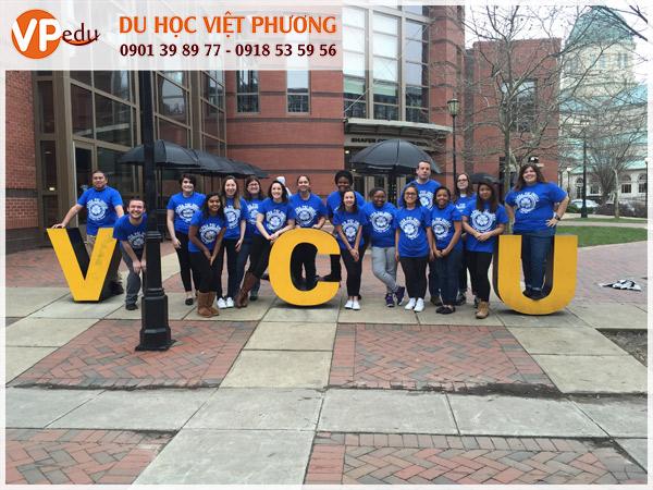 Môi trường học tập thân thiện tại trường Virginia Commonwealth University