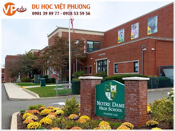 Trường trung học Notre Dame High School, Mỹ