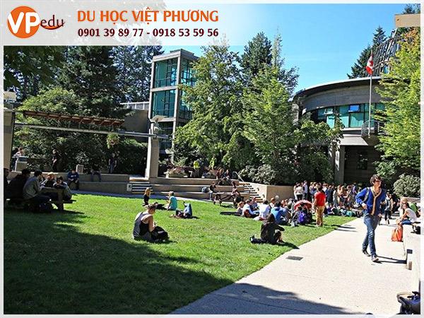 Trường Capilano University là một trong các trường đại học ở Vancouver nổi tiếng nhất