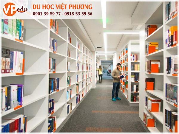 Thư viện trường European University Cyprus