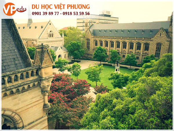 Đại học Adelaide, Úc - Môi trường học tập đẳng cấp