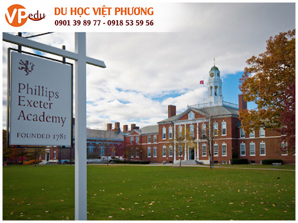 Trường trung học Philips Exeter Academy, Mỹ