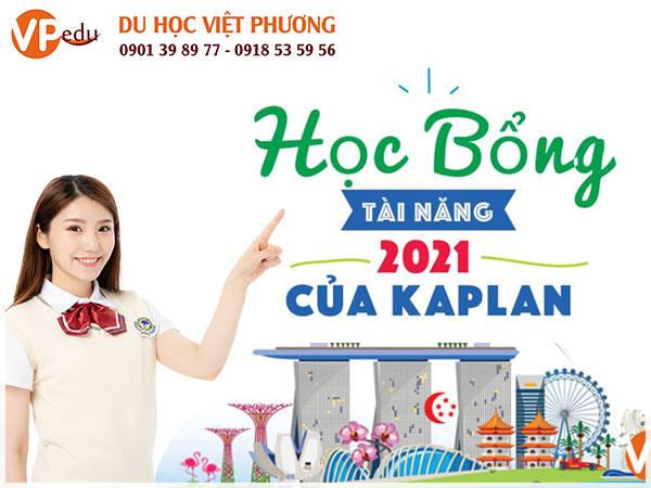 Học bổng 100% học phí tại Học viện Kaplan Singapore 202