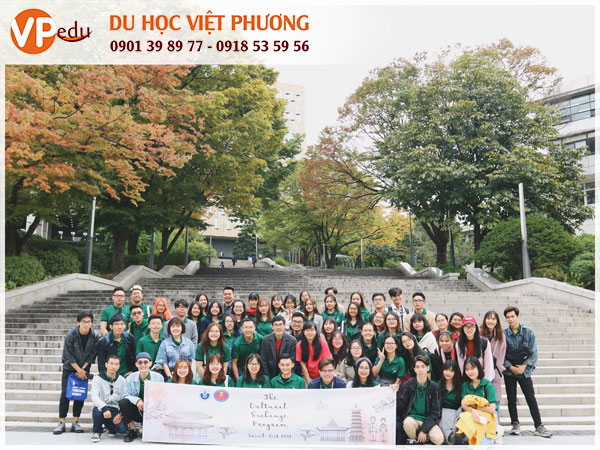 Du học Hàn quốc - Sinh viên tại trường Seoul National University