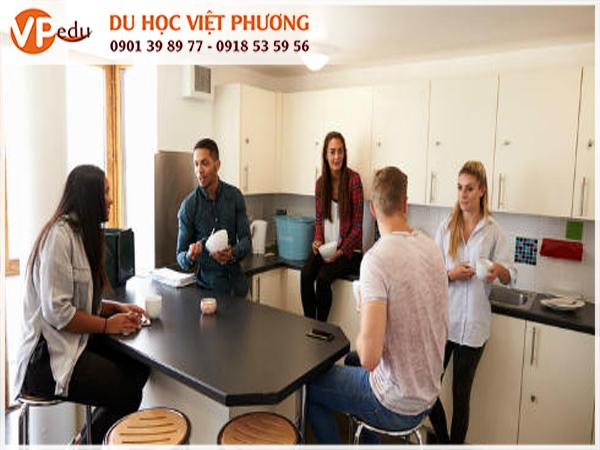 Căn hộ dùng chung được nhiều du học sinh quốc tế lựa chọn khi du học tại Thụy Sĩ