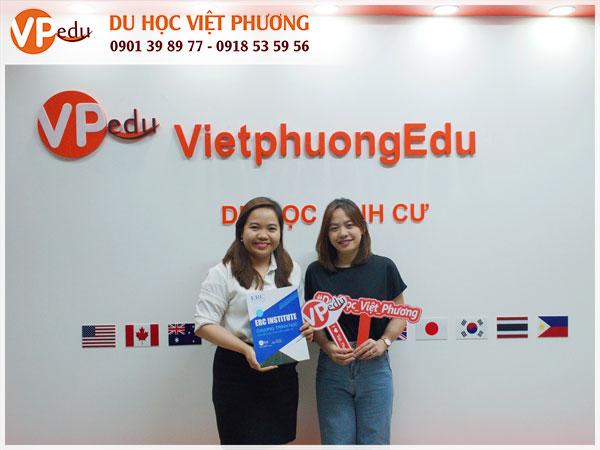 Đại diện trường ERCi qua thăm văn phòng du học Việt Phương