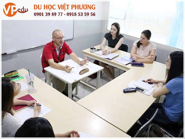 Lớp học tiếng Anh tại Philippines
