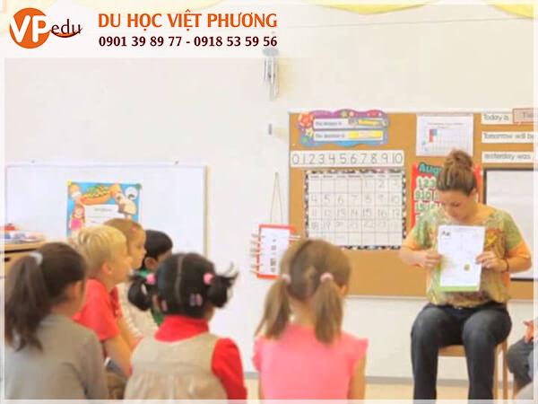 Lớp học Tiểu học tại Thụy Sĩ