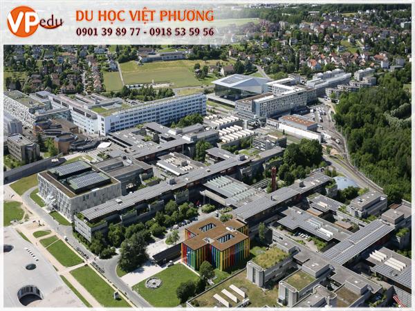 EPFL là trường đại học kỹ thuật quốc tế nhất Châu Âu