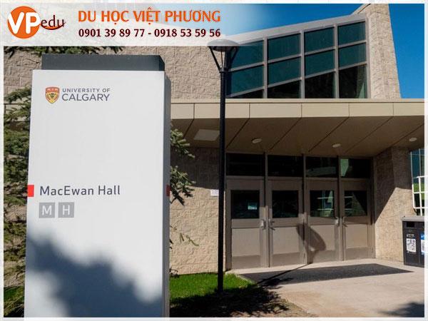 Du học Canada: Tại trường University of Calgary, bang Alberta