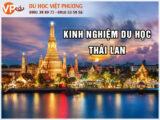 Kinh nghiệm du học Thái Lan